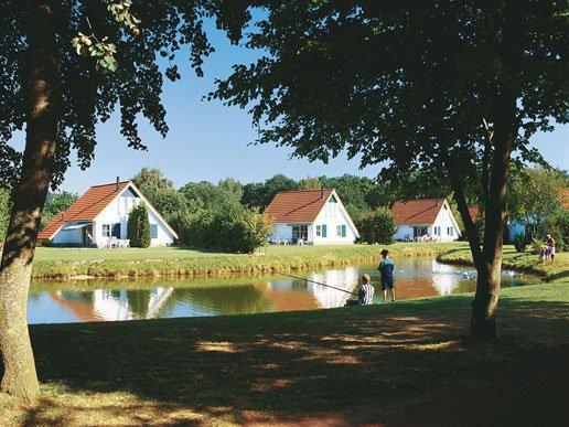 Huisjes met een meer