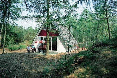 Aanzicht bungalow