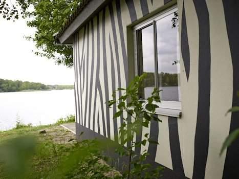 Huisjes aan het meer