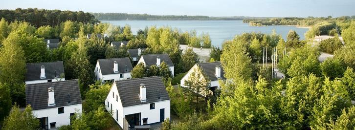 Bovenaanzicht bungalows