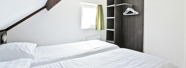 Slaapkamer van bungalow