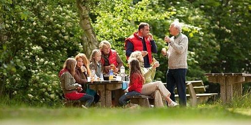 Picknicken met de hele famile