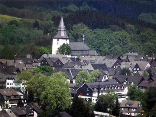 Overzicht dorp
