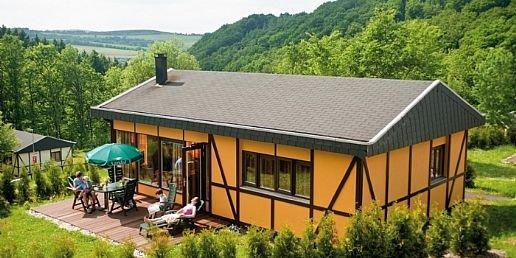 Bovenaanzicht bungalow