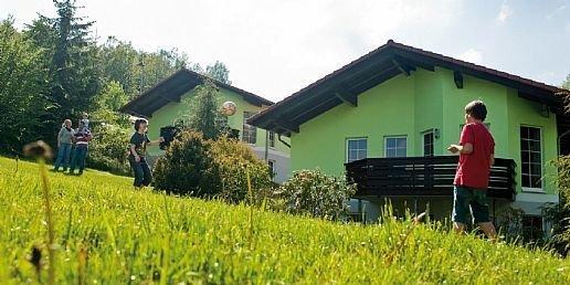 Aanzicht bungalows