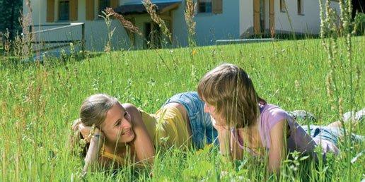 Op het gras
